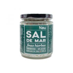 Sal de mar finas hierbas Nau Sabores 400 g