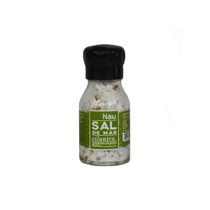 Molinillo sal de mar con cilantro Nau Sabores