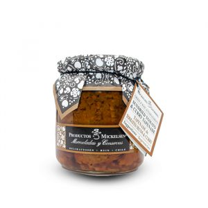 Dry tomato tapenade with curry / Tapenade tomate seco con curry