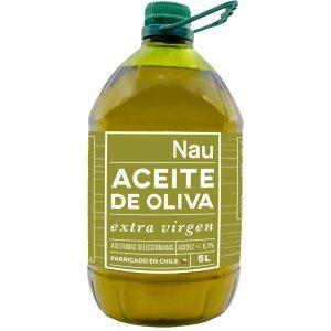 Aceite de Oliva Extra Virgen Nau 5 Litros