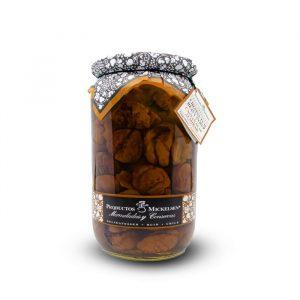 castañas en almíbar mickelsen 380 g