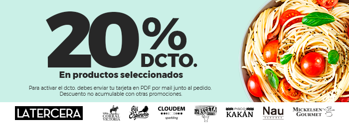 Descento Club La Tercera 20%