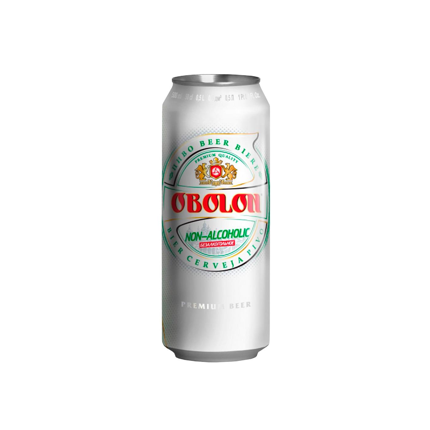 2378 CERVEZA 500CCX24 LATA OBOLON NON ALCOHOLIC