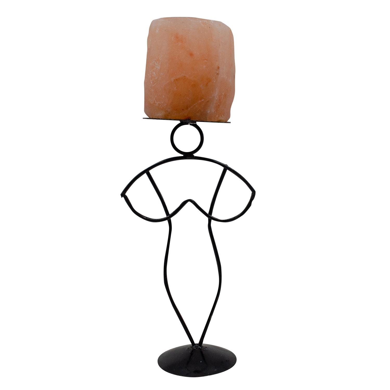 Soporte-de-hierro-con-soporte-de-vela-forma-de-mujer